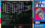 Block Quest V PC-98 These blocks move toward you, so hit them before they block your paddle!