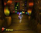 Earthworm Jim 3D Windows Entering the second main area, Happiness