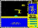 Zub ZX Spectrum Game over