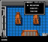 Metal Gear NES Strange blue room