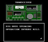 Metal Gear NES Codec