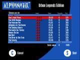 AlphaNatix: Urban Legends Edition Windows Level selection