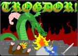 TROGDOR! Browser Title screen