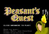 Peasant's Quest Browser Title screen