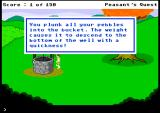 Peasant's Quest Browser Putting the pebbles to use
