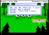 "Peasant's Quest Browser Don't you mean ""hello"" ?"