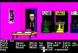 Maniac Mansion Apple II Video game room.