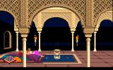 Prince of Persia DOS Cutscene - The princess watches the hourglass slowly run out...