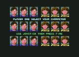 Alien Syndrome Commodore 64 Character Selection