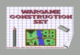 Wargame Construction Set Commodore 64 Title