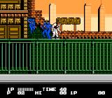Bad Dudes NES Fighting blue ninjas