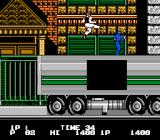 Bad Dudes NES On a truck