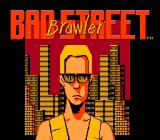 Bad Street Brawler NES Title screen
