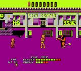 Bad Street Brawler NES City center