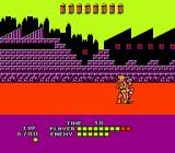 Bad Street Brawler NES Tricky skateboard enemy