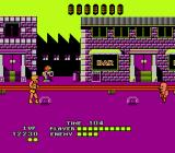 Bad Street Brawler NES Yet another stage