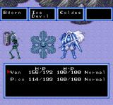 Cosmic Fantasy 2 TurboGrafx CD Van and Pico got the ski; now they fight icy monsters in snow fields