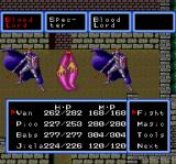 Cosmic Fantasy 2 TurboGrafx CD You get a full four-people party only when nearing the end phase of the game. Fighting high level enemies in a ghostly castle
