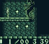 Bram Stoker's Dracula Game Boy Boss battle.