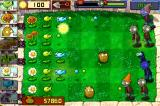 Plants vs. Zombies iPhone A huge wave of zombies is approaching.