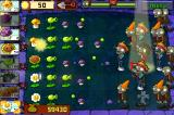 "Plants vs. Zombies iPhone The ""Thriller"" zombies"
