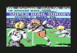 Super Bowl Sunday Commodore 64 Developer