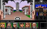 Realms of Arkania: Blade of Destiny DOS Das Schwarze Auge consists of three parts: Overland travel on the 2D map (see screenshot 4), city and dungeon exploration in 3D...