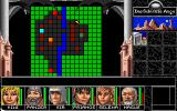 Realms of Arkania: Blade of Destiny DOS The game provides a crude, color-coded automap.