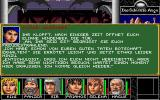 Realms of Arkania: Blade of Destiny DOS Your quest is to visit persons all over Aventurien...