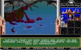 Realms of Arkania: Blade of Destiny DOS Travelling by ship is quick, but not without its dangers: a giant octopod may attack...
