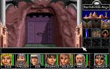 Realms of Arkania: Blade of Destiny DOS Entering a dungeon.