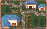Wolfish Gallop: Legacy of the Solomon PC-98 Typical town with blue roofs