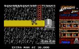 Indiana Jones and the Temple of Doom Atari ST Level 2 - Indy is on a conveyor belt.