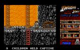 Indiana Jones and the Temple of Doom Atari ST Level 3  - Don't fall into the lava!