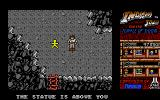Indiana Jones and the Temple of Doom Atari ST Bonus Round: Find and whip the golden statues for extra points.
