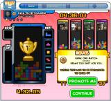 Tetris Friends Browser Facebook release: victory - and a level-up for me.
