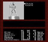 Tales of the Unknown: Volume I - The Bard's Tale NES A strange statue...