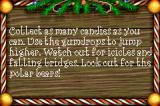 Elf: The Movie Game Boy Advance Level instructions