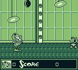 The Ren & Stimpy Show: Space Cadet Adventures Game Boy I can spit at these enemies to remove them.
