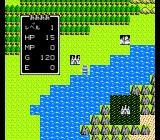 Dragon Warrior NES World map