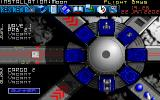 Millennium: Return to Earth  DOS Assign crews and cargo to your ships in the flight bay...