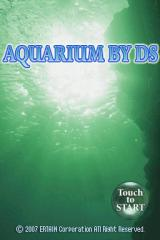 Aquarium by DS Nintendo DS Title screen.
