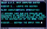 CyberPunks Amiga Mission 3 Briefing