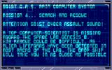 CyberPunks Amiga Mission 4 Briefing