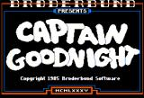 Captain Goodnight and the Islands of Fear Apple II Captain Goodnight...