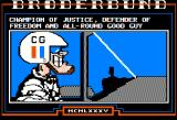 Captain Goodnight and the Islands of Fear Apple II Captain Goodnight all around hero.