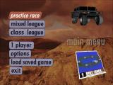Test Drive: Off-Road DOS Main menu