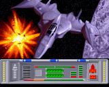 Insanity Fight Amiga Spaceship image while theme song plays