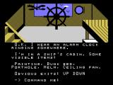 Return to Pirate's Isle TI-99/4A Now I can see! I'm on a ship...