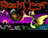 Black Magic Amiga Game title screen